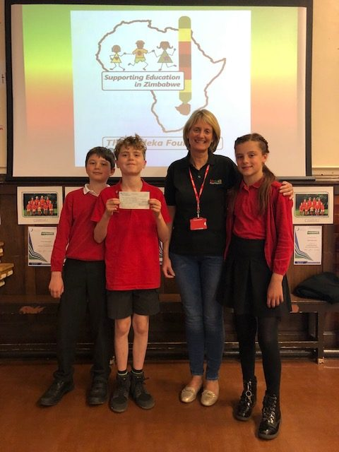 Read more about the article Colman Junior School did walk 500 miles for the Mudeka Foundation (with apologies to the Proclaimers)