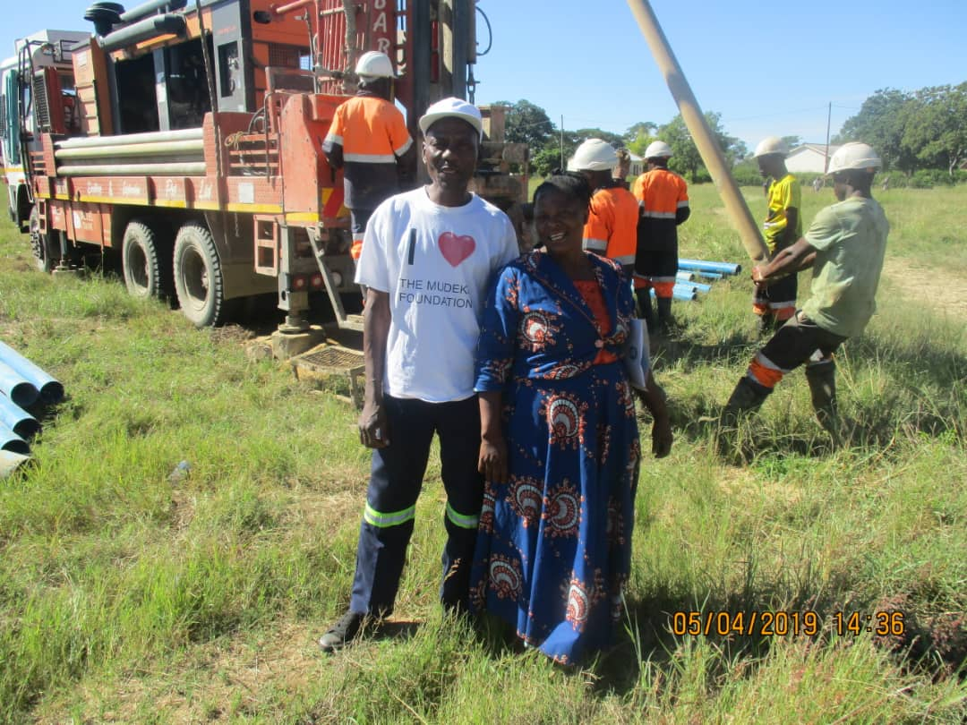 Read more about the article Borehole drilling has started in Muda!