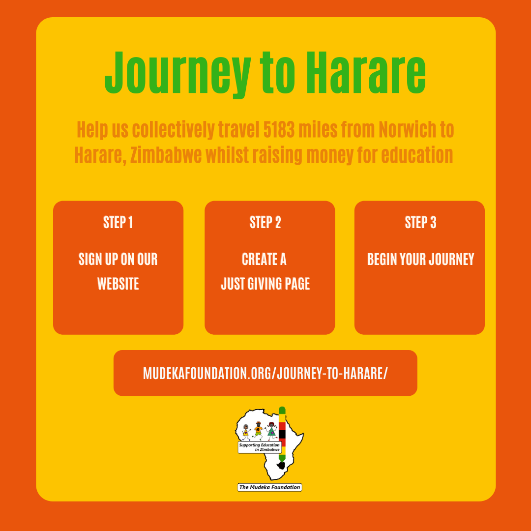 Read more about the article Virtual 'Journey to Harare' Challenge