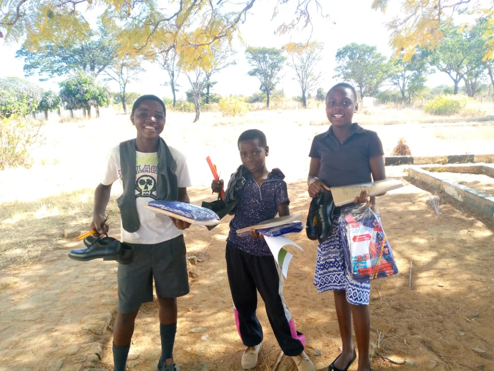 Read more about the article Muda visit to give donated school uniforms